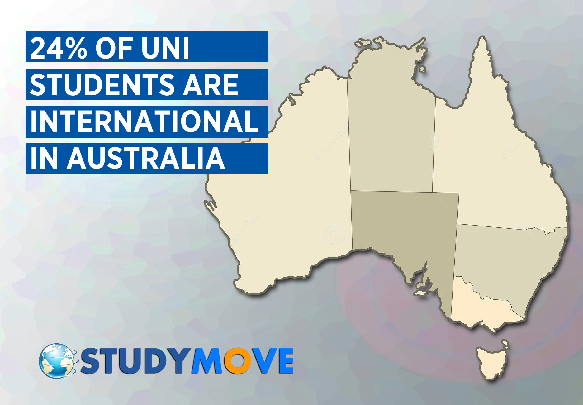 Percentage of International Students in Australia